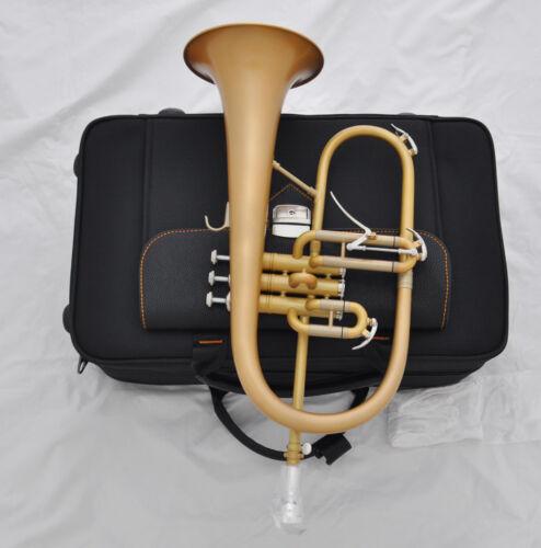 Profession Flugelhorn Bb Matt Gold Flugel Horn Bell 6