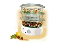 Tefal Steam Cuisine VC102315 Steamer, 3 Tier, White