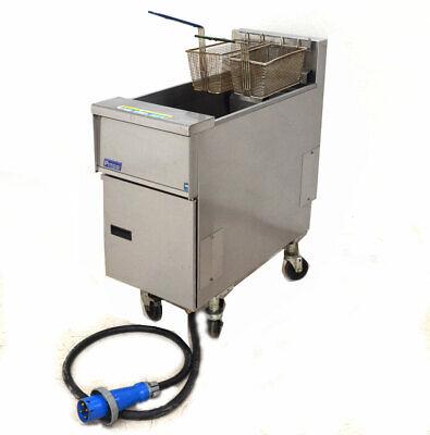 Pitco Se14x-s Commercial 3-ph Electric Deep Fat Fryer 208v 2-basket 40-50-lb 14