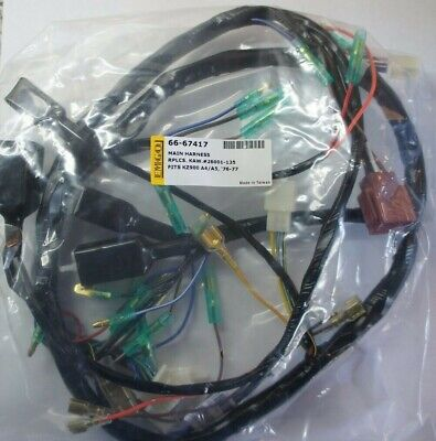 new replica wiring loom HARNESS for KAWASAKI Z900 A4 1976