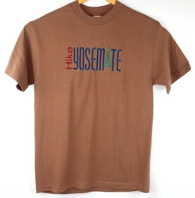 Vintage Hike Yosemite Large Desert Heat USA 90's Outdoor Vtg