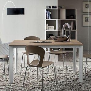 Tavolo allungabile soggiorno cucina pr mario 120 160 140 for Tavolo 70 x 120