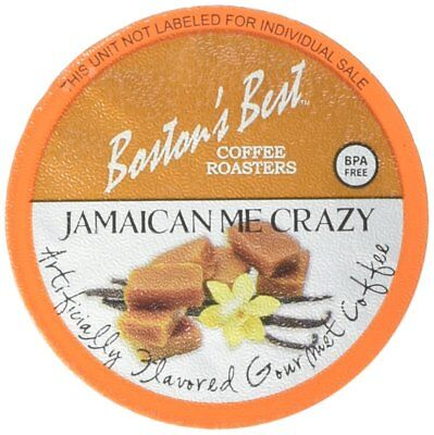 Boston's Best Single Serve K-Cup Coffee, Jamaican Me Crazy, 42 (Best Single Serve Coffee)