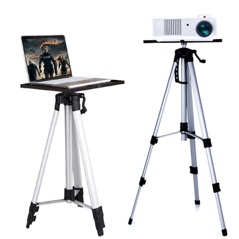 "Tripod Projector Stand Mount DJ Laptop Studio Stand Holder 20""-55"" Height Adjust"