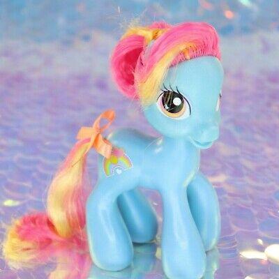 My Little Pony RAINBOW DASH'S MOM Blue Pink Orange Hearts G3.5 MLP BE246