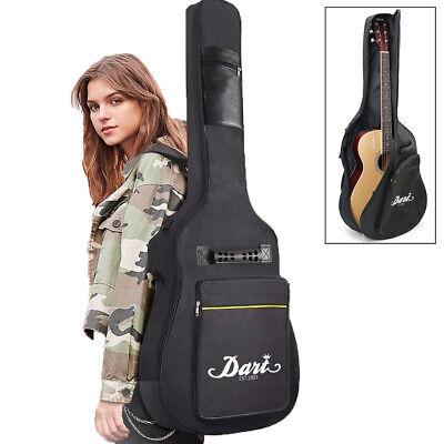 "Premium Acoustic (Dreadnought/Jumbo/Cutaway) Guitar Nylon Soft Case Gig Bag 41"""