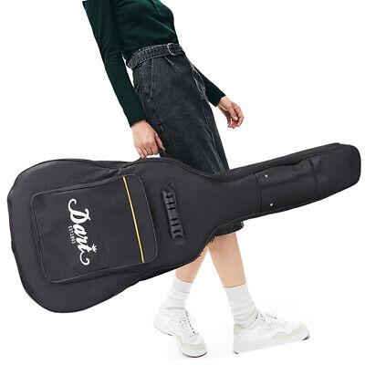 600D Oxford 10mm Sponge Padded Acoustic Guitar Gig Bag Shoulder Strap Carry Case
