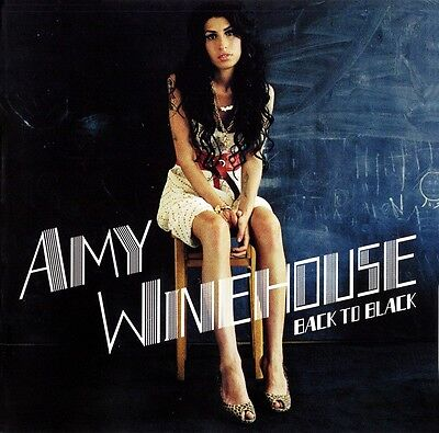 "Amy Winehouse ""back to black"" Vinyl LP NEU & eingeschweißt"