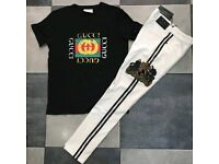 Gucci T and pant