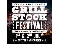 Grillstock 2017 weekend ticket for sale