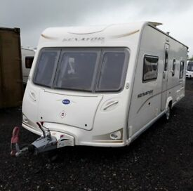 Bailey Senatore series 6 Indiana 2006 single axle, fixed bed 4 berth caravan