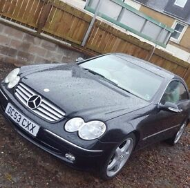 MERCEDES CLK 2.6 ELEGANCE YEAR MOT ( EXCLUSIVE OFFERS GRAB THE CAR THIS WEEK WITH £300 LESS)