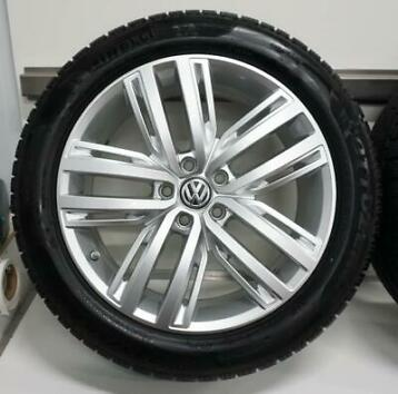 VW Tiguan 5N All Space 19 inch velgen + Winterbanden Pirelli