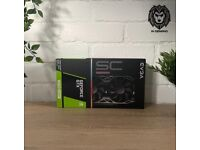 EVGA NVIDIA GeForce GTX 1660 Super SC Ultra Gaming 6GB Graphics Card ⭐️New & Free Delivery⭐️