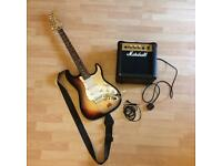 Cruiser by Crafter Electric Guitar and Marshall G10MK.2 Amp Complete With Strap and Lead