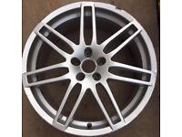 "X1 19"" Audi Le Mans Style Alloy Wheel: 5x112"
