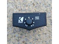 Kicker Amplifier On-Dash Bass Controller