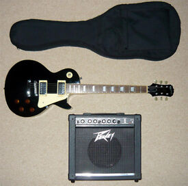 Epiphone Les Paul Electric Guitar and Amplifier