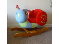 Mamas & Papas snail rocker
