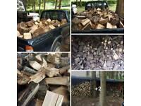 Fire logs hard wood seasioned