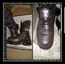 New Rock Reactor Boots Size 5 (38)