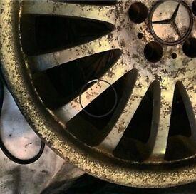 Alloy wheel repair Audi bmw