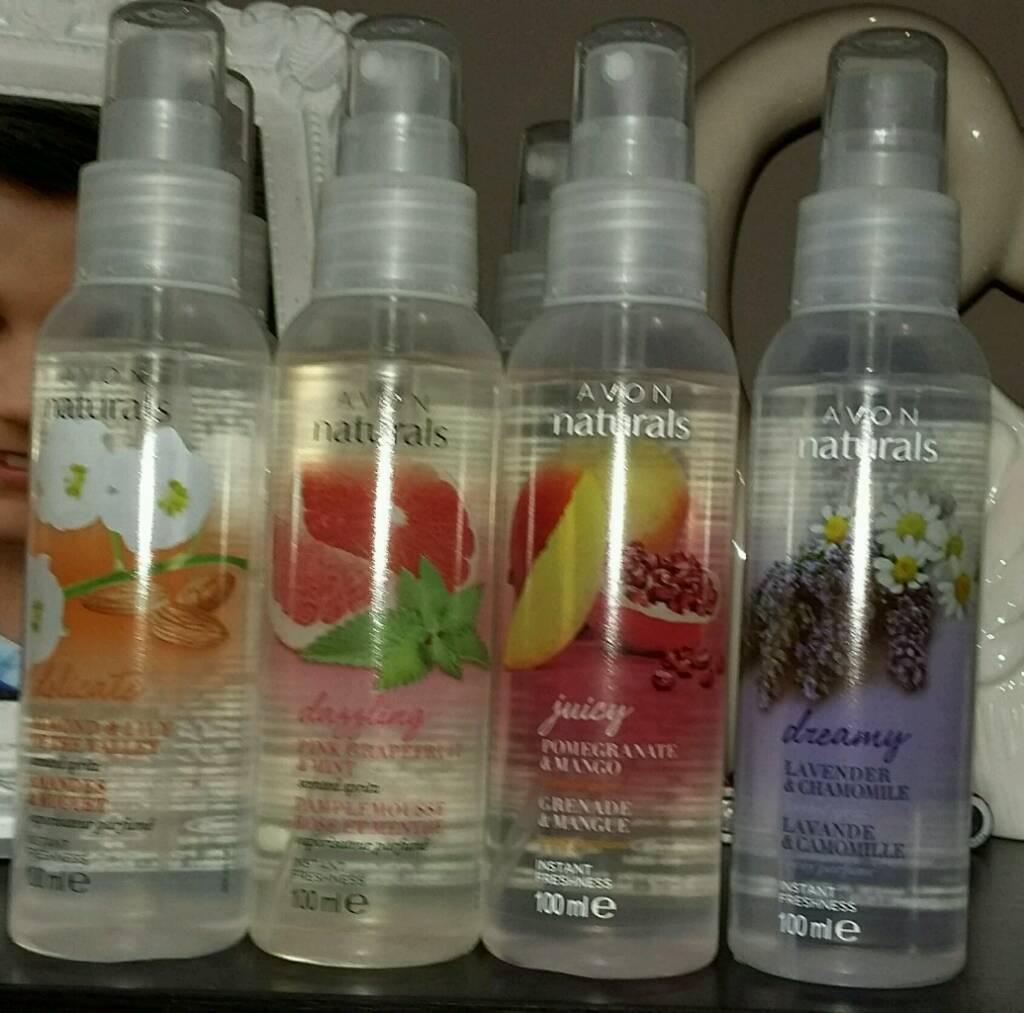 Fragrance spritz