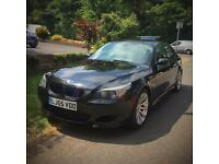 BMW M5 LOW MILEAGE BLACK FULL SERVICE HISTORY IMMACULATE CONDITION FULLY LOADED 2006 E60 M5