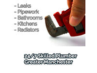 24/7 Plumber Service - Free Quotes - All Areas Covered