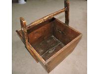Log Basket - Wooden