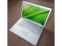 Macbook Pro, 4GB Ram, 250GB Hard Drive. Excellent Battery life. FREE DELIVERY