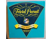 As New - Trivial Pursuit Family Edition Board Game