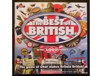 'The Best Of British' Board Game (new)