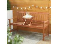 Garden bench Brand New sealed unused