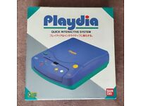 BANDAI PLAYDIA QIS CD CONSOLE 1994 JAPANESE MARKET COMPLETE RARE BEST AROUND
