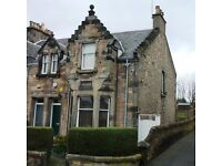 Lovely 4 bed end of terrace Victorian villa to rent in popular residential in Kirkcaldy(unfurnished)