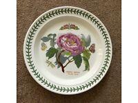 "One Portmeirion Dinner Plate ""Paeonia Moutan/Shrubby Peony"" 10.5"" (27cm)"
