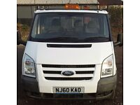 Ford Transit Tipper 2010 with 6 months warranty.