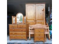 Antique Pine Furniture - Bedroom