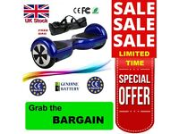 NEW - Blue - 2 WHEELS SELF BALANCING SCOOTER BALANCE BOARD SEGWAY + FREE BAG for sale  Lancashire