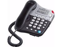 Binatone Spirit 410 Corded Telephone - great features in black
