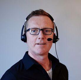 Professional British English teacher via Skype £20 /60 mins -angielski przez skype- available now