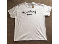 Grafting Love Island Official Primark Men's T-Shirt Large Free P&P BNWT Graftin