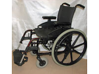 Details about Worldwide Mobility Folding Manual Wheelchair