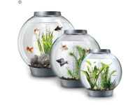 Biorb 60 Litre Large Fish Tank with extras