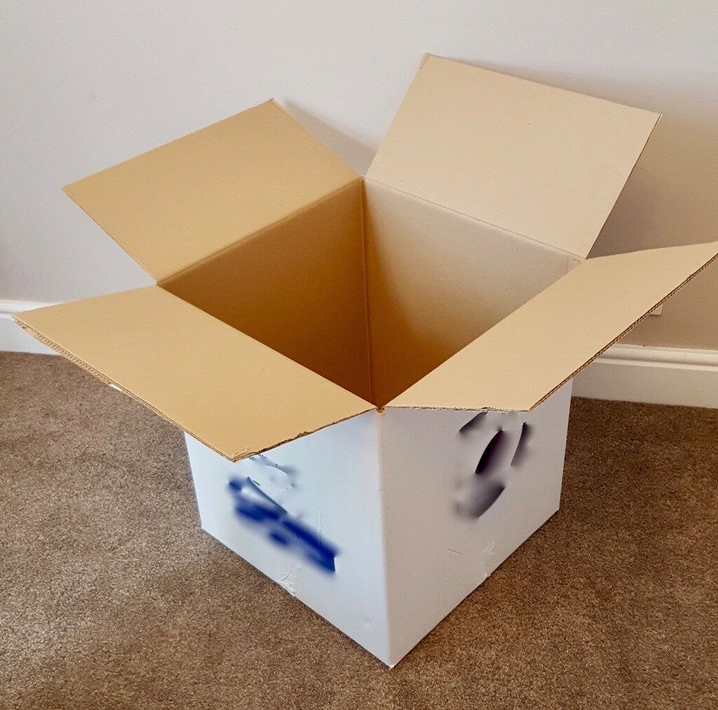 30 Nearly New Sturdy Packing BOXES, Ideal for Moving House or for Storage