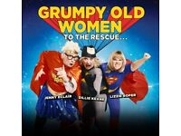 2 tickets for Grumpy Old Women Tour Beck Theatre Hayes