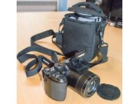 Fujifilm Finepix S4700 digital camera, 16MP, 28x Optical Zoom with case