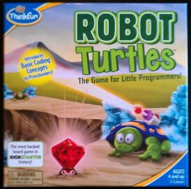 REPLACEMENT PARTS: Think Fun 'Robot Turtles' Board Game (price per part)
