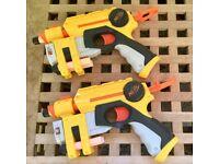 Nerf guns and darts